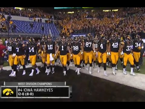 Michigan State vs Iowa Big Ten Championship 2015