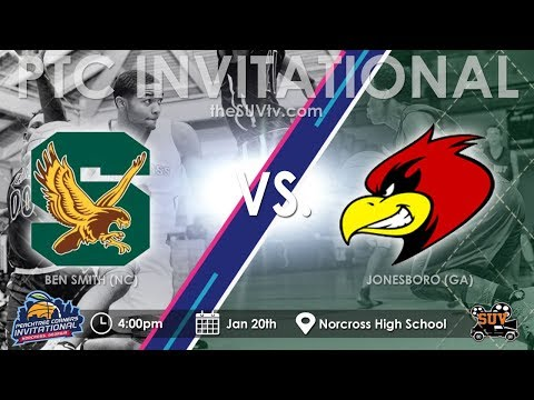 Peachtree Corners Invitational: Ben Smith (NC)  vs. Jonesboro (GA)