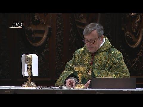 Messe du 12 janvier 2018