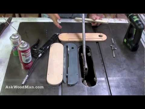 Table Saw Tip #6: How To Change A Table Saw Blade