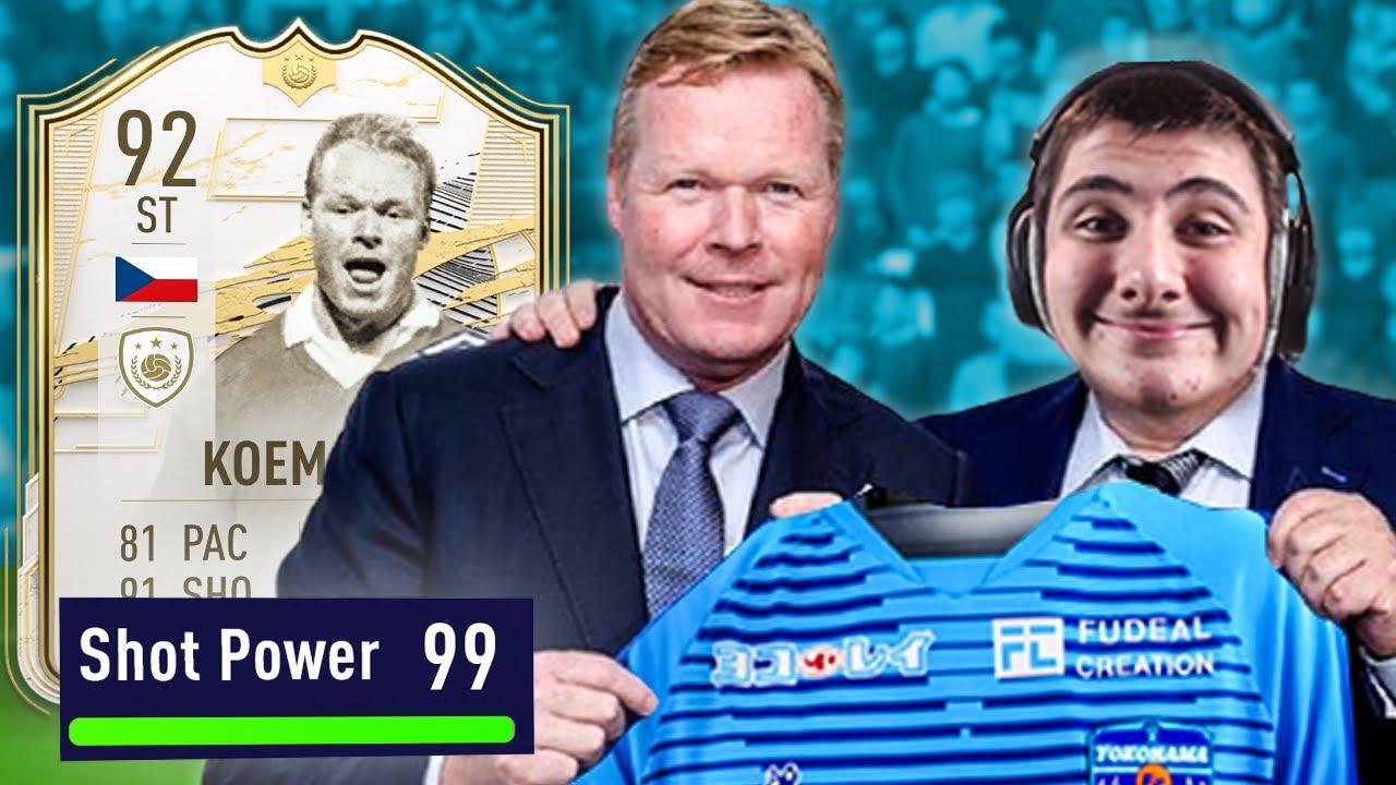 The BEST 𝙲̶𝙱̶ ST in FIFA 21 (behind waman)