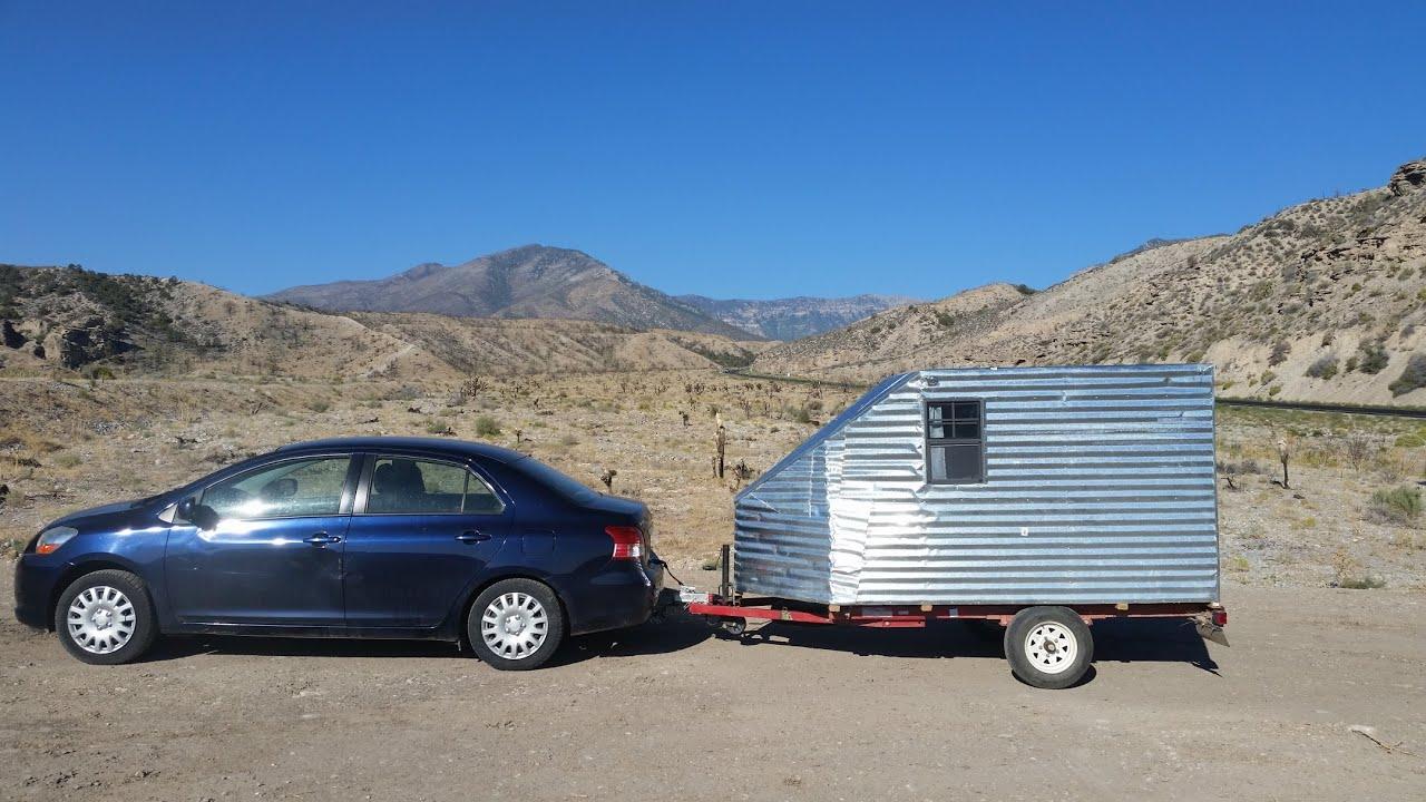 Way Cheaper Than A Conversion Van Vanlife Home Made Teardrop Camper Trailer Under 500 Youtube