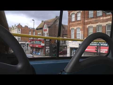 London bus ride in Hendon