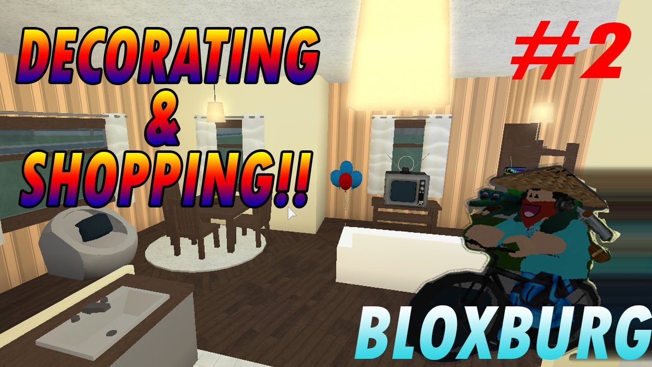 Welcome To Bloxburg Ep 2 I Bought A Bike And Decorated My House
