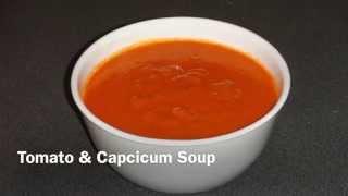 Tomato & Capcicum Soup