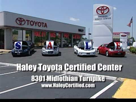 Haley Toyota Certified Sales And Service Center In Richmond VA