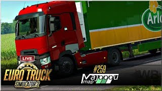 "LIVE | Euro Truck Simulator 2 - #259 ""Majooou Map"""