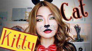 LAST MINUTE Halloween Make Up (Kitty Cat) Par...