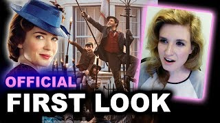 Mary Poppins Returns FIRST LOOK - Beyond The Trailer