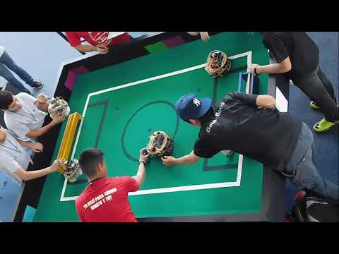Torneo Mexicano de Robótica 2018 FINAL RoboCup Junior Soccer Lightweight - Galácticos ganador