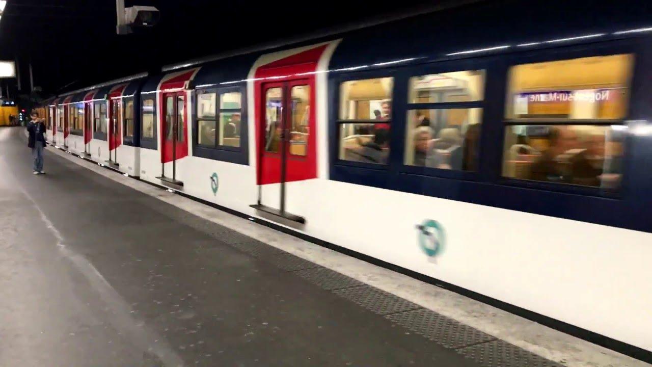 RER RATP Ligne (A) MS61 Nogent sur Marne (Dernier Passage) - YouTube