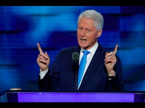 Bill Clinton Speaks At The DNC, Barely Touches Trump