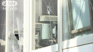 中学校の窓ガラス53枚割られる 別の学校は水浸し(13/03/09)