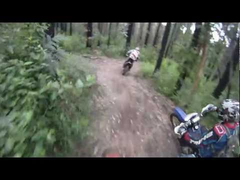 Dirt Bike Enduro, GoPro larby to toolshed Pub MotoTrailsOz