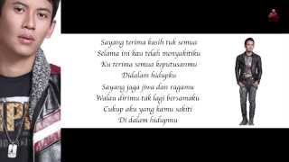 Dadali - Disaat Aku Tersakiti (Official Lyric Video)