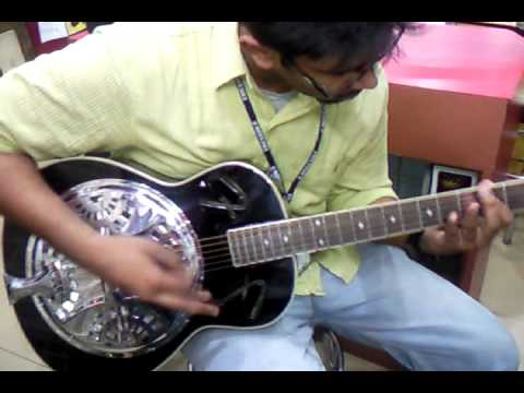 onstage Music Factory Noida Achint Guitar Testing