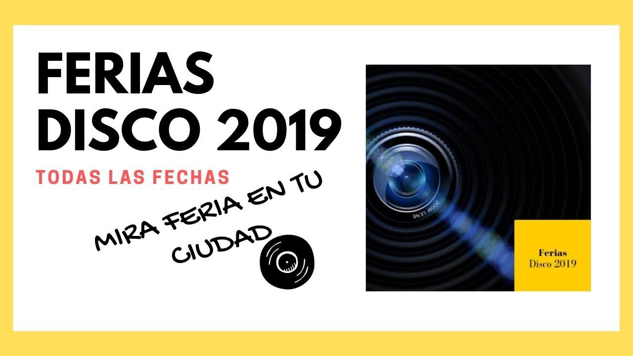 Fabrica Vinilos Espaa.Ferias Del Disco 2019 Proximas Ferias Para Amantes Del Vinilo En Espana