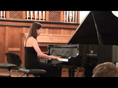 Bach Toccata for Organ in C major BWV 564 - Anastasia Gromoglasova