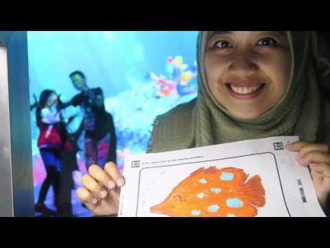 JALAN-JALAN - Keluarga Antares ke TeamLab Future Park, Plaza Indonesia
