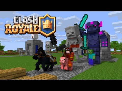 Thumbnail: Monster School : Fighting Clash Royale - Minecraft Animation