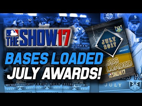 JULY PLAYER OF THE MONTH PACK OPENING! 96 JAMES PAXTON PLAYER EPIC! | MLB The Show 17 Pack Opening