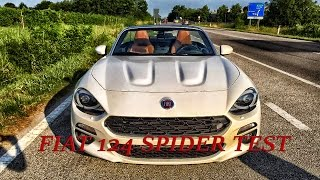 TEST Fiat 124 Spider Sound and acceleration 0-150