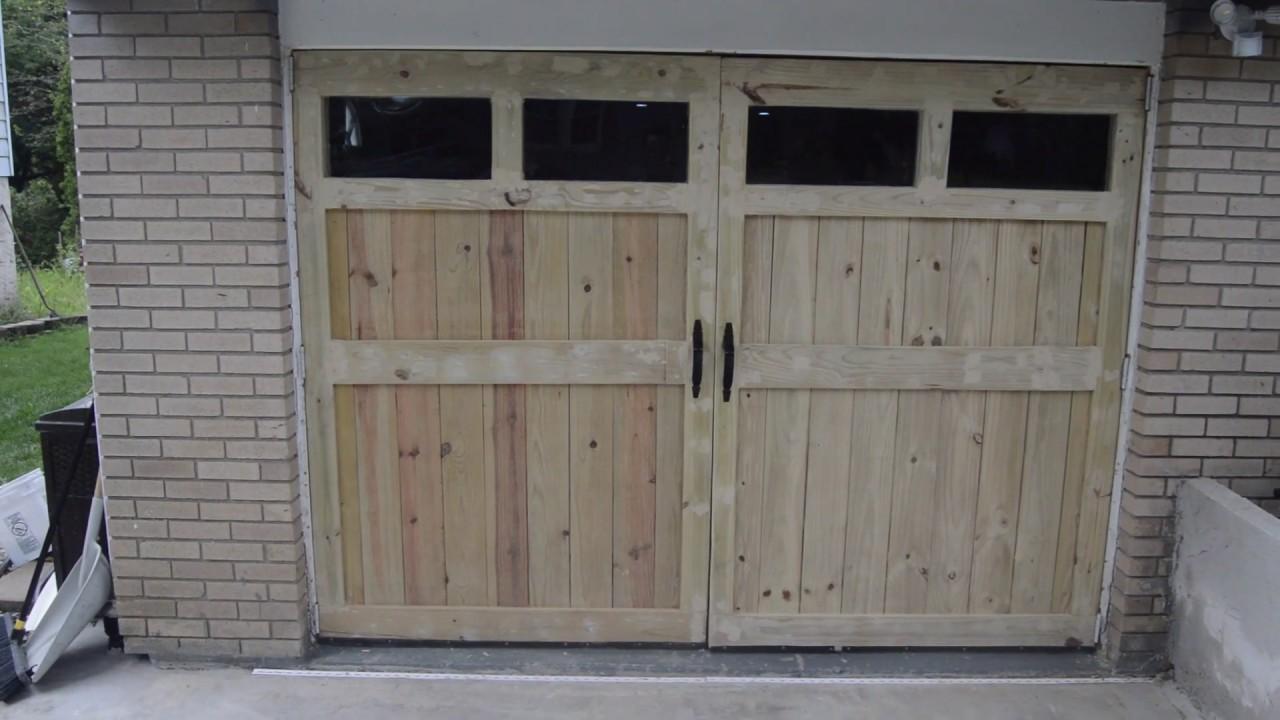 Replacing Garage Doors With Barn Doors