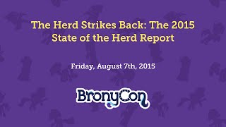 The Herd Strikes Back: The 2015 State of the Herd Report