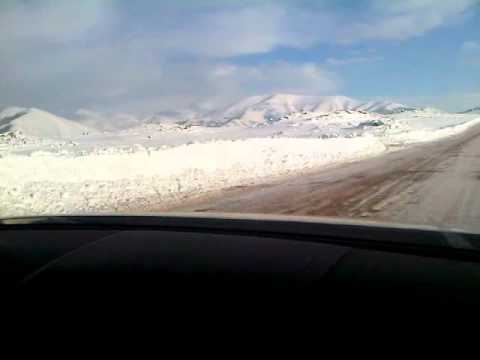 a lot of snow in Armenia