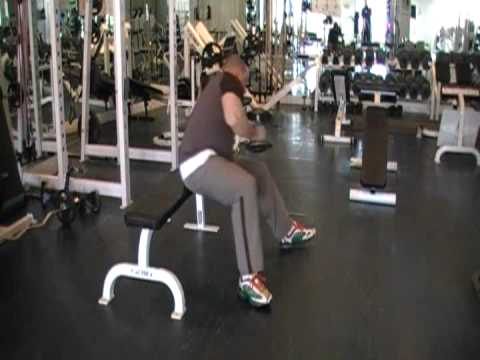 cross bench dumbbell pullover - YouTube
