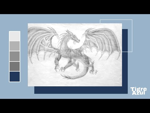 Hermosa Dragón Realista Para Colorear Cresta - Dibujos de Animales ...