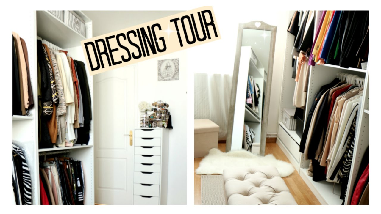 dressing closet tour 2016 youtube. Black Bedroom Furniture Sets. Home Design Ideas