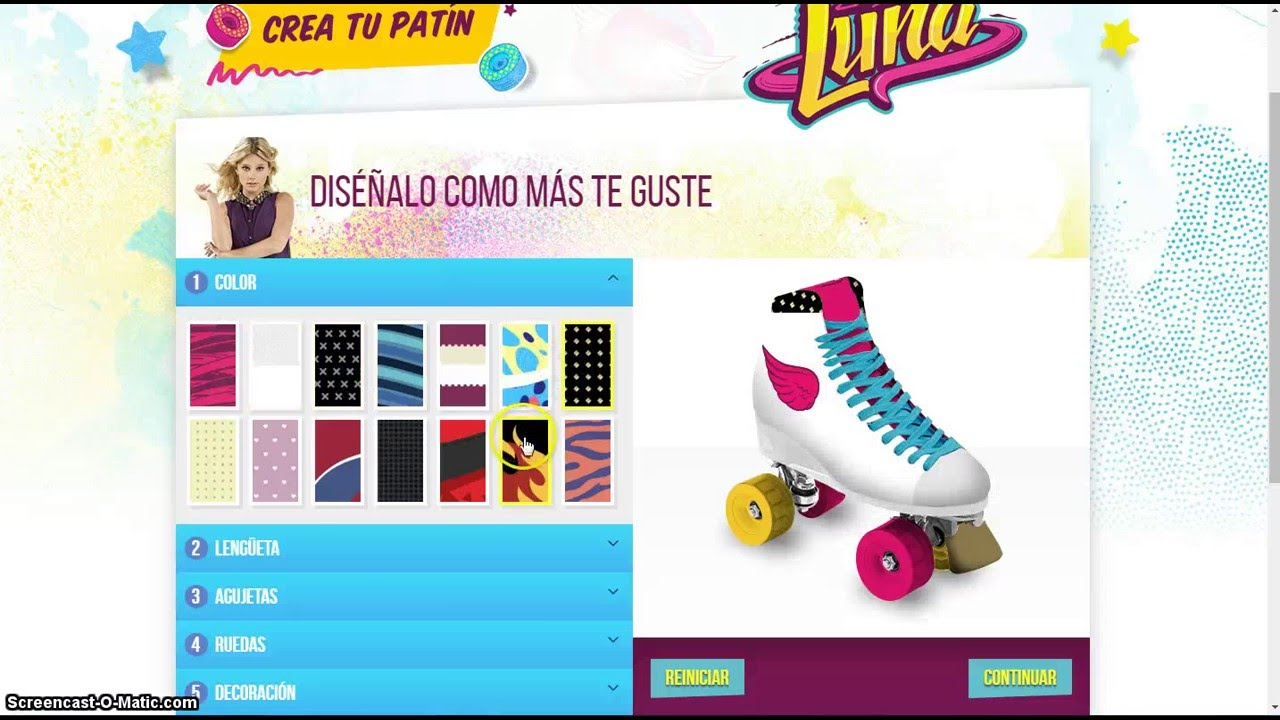 soy luna crea tu patin youtube