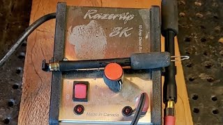 Live Wood Burning With The Razor Rip