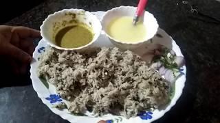 Traditional urad Dal khichdi recipe easy and tasty