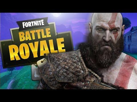 GOD OF WAR Voice TROLLING on FORTNITE! (Kratos Impression)