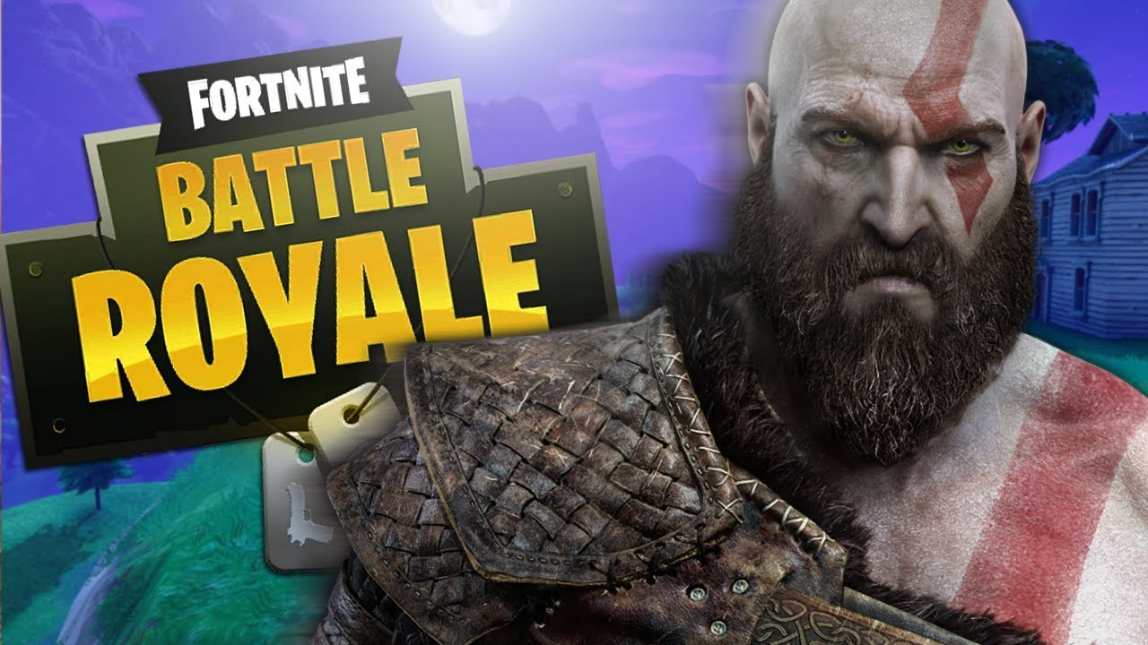 GOD OF WAR Voice TROLLING on FORTNITE! (Kratos Impression)