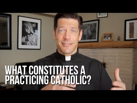 What Constitutes a Practicing Catholic?