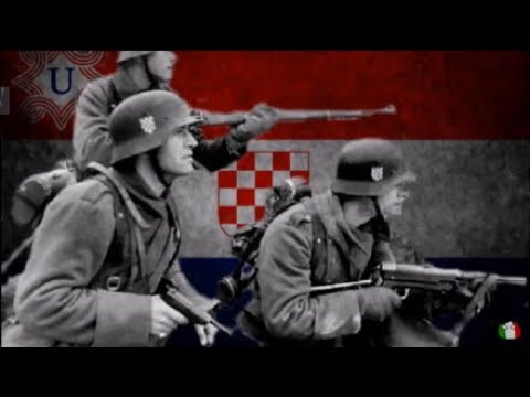 Ustaška se Vojska Diže - marching song for the Independent state of Croatia