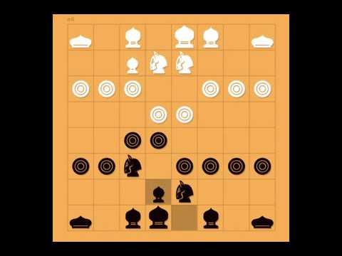 Left horse - chess Khmer - Makruk - Thai chess