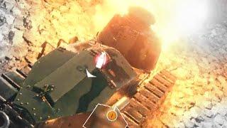 battlefield 1 multiplayer gameplay bf1 light tank game play e3 2016
