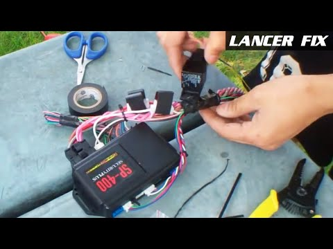 part i how to car alarm remote start system installation 6 39