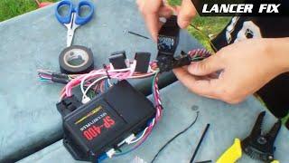 Lancer Fix 2 | Car Alarm Sp-400, Trunk Release
