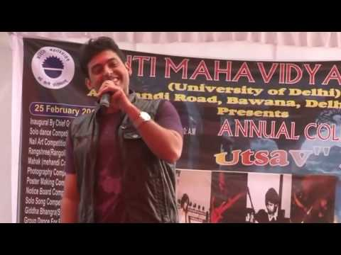 Anchor Gaurav Devgan - Hosting Fest for Aditi College(D.U) 9999203691