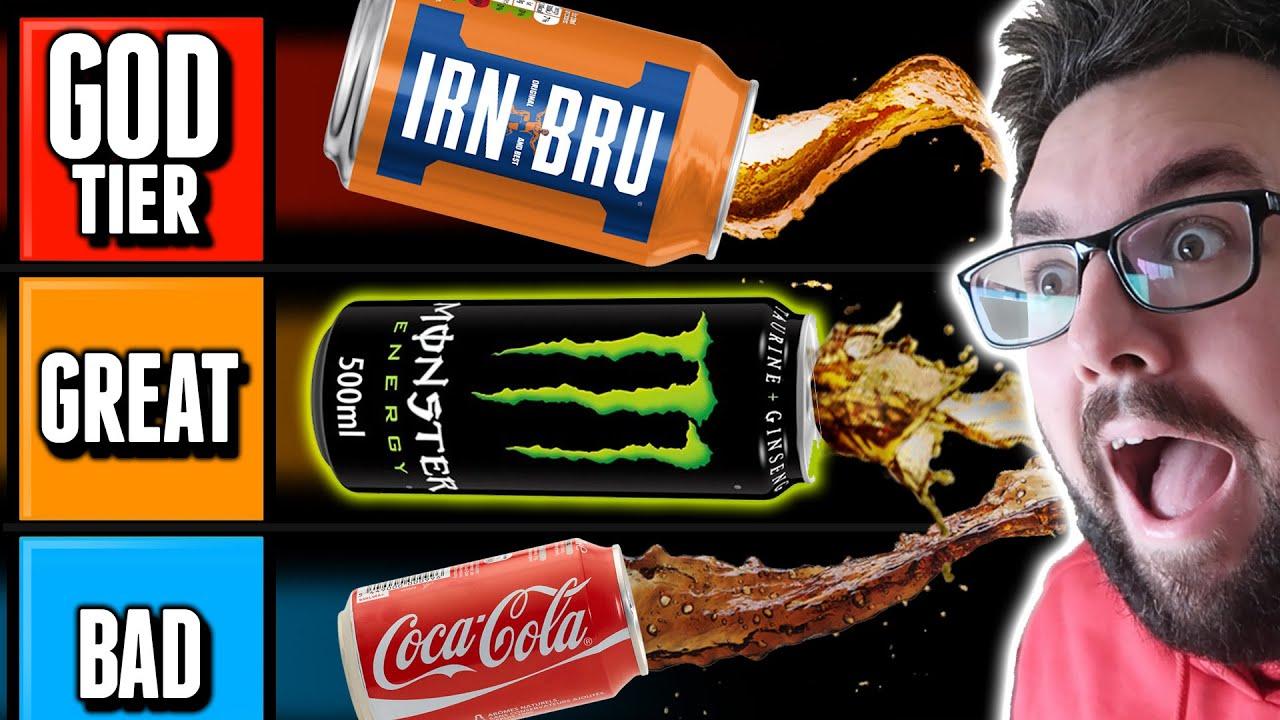 SODA TIER LIST (UK DRINKS)