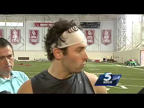 Raw interview: Baker Mayfield talks about being the starting QB for OU