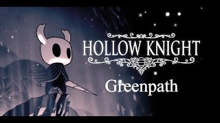 how to get to greenpath hollow knight