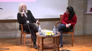 פסטיבל הסופרים 2014 יהודית קציר ודורית רביניאן dorit rabinyan judith katzir