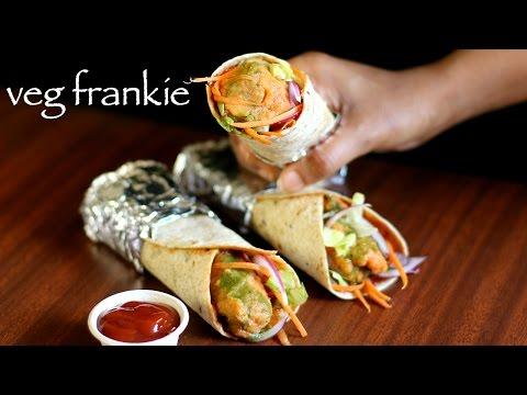 veg frankie recipe | veg kathi roll recipe | veg frankie roll recipe