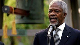 Les nombreux hommages à Kofi Annan